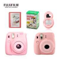 Fujifilm Fuji Instax Mini 8 Instant Film Photo Camera Close Up Lens 20 Sheets Film 28 Pockets Photo camera silicon rubber case