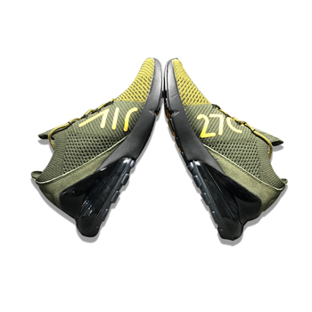 NIKE AIR MAX 270 Running Shoes Sneakers Sports Outdoor Green for Men ... f2bc55dd0