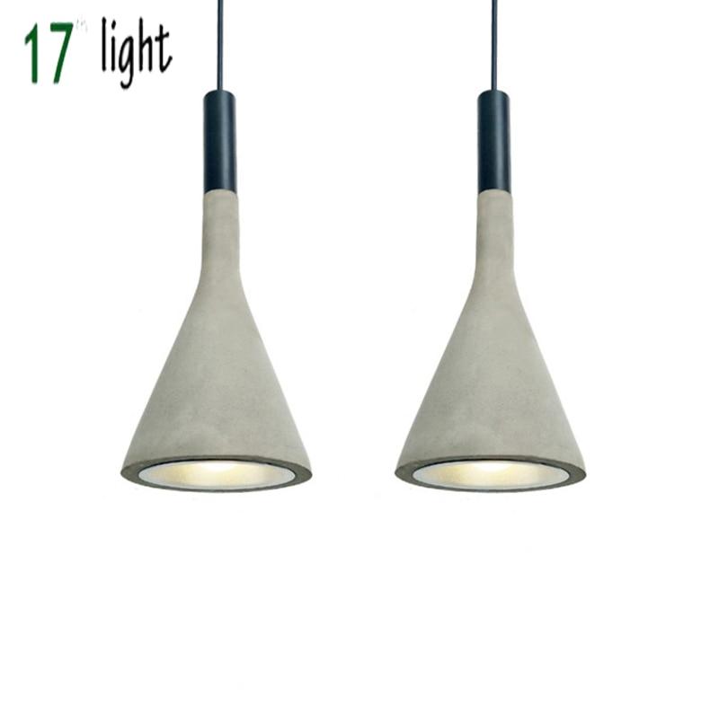 Aplomb Suspension Lamp Concrete Pendant Lighting Paolo Lucidi Luca Pevere Studio Lucidi&Pevere Cement Material Lamp