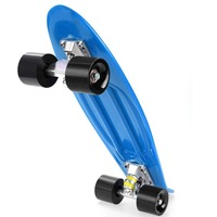 ANCHEER Mini Skateboarding Fingerboard 12 Colors Anti Slip Plastic Board Skate Complete Unisex Skate Board Deck For Boy Girls