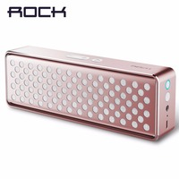 ROCK Original Mubox Bluetooth Speaker Metal Wireless Loudspeaker With NFC Mega Bass Colorful Stereo Mini Speaker