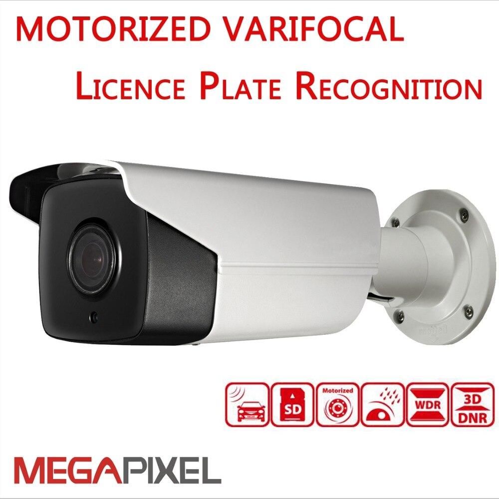 ip cam cctv video surveillance Licence Plate Recognition camera Darkfighter bullet 2MP motorized varifocal 2.8-12mm ip cam