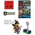 FIRING RANGE Castle knight set Building Block Set 3D Construction Brick Toys Educational Block toy kit for Children
