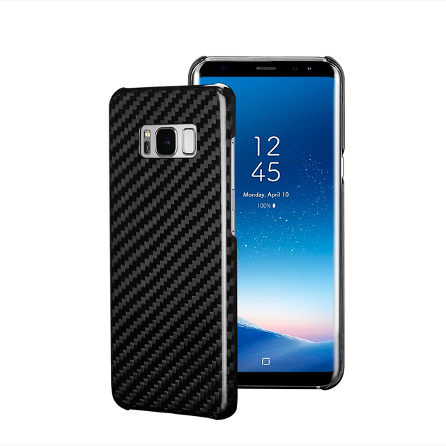Luxury Real Carbon Fiber Case Cover for Samsung Galaxy S8 and S8 Plus