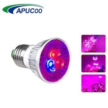 Высокомощный светодиодный светильник для выращивания E27, полный спектр, фитолампия, лампа для выращивания в помещении, семена цветов растений, тент для выращивания, коробка, заменяющий солнечный светильник