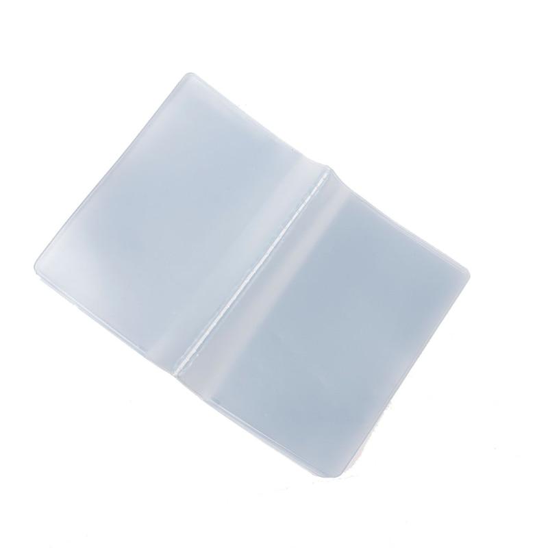 Пластиковый прозрачный чехол из ПВХ, держатель для кредитных карт, чехол, органайзер, Карманный держатель