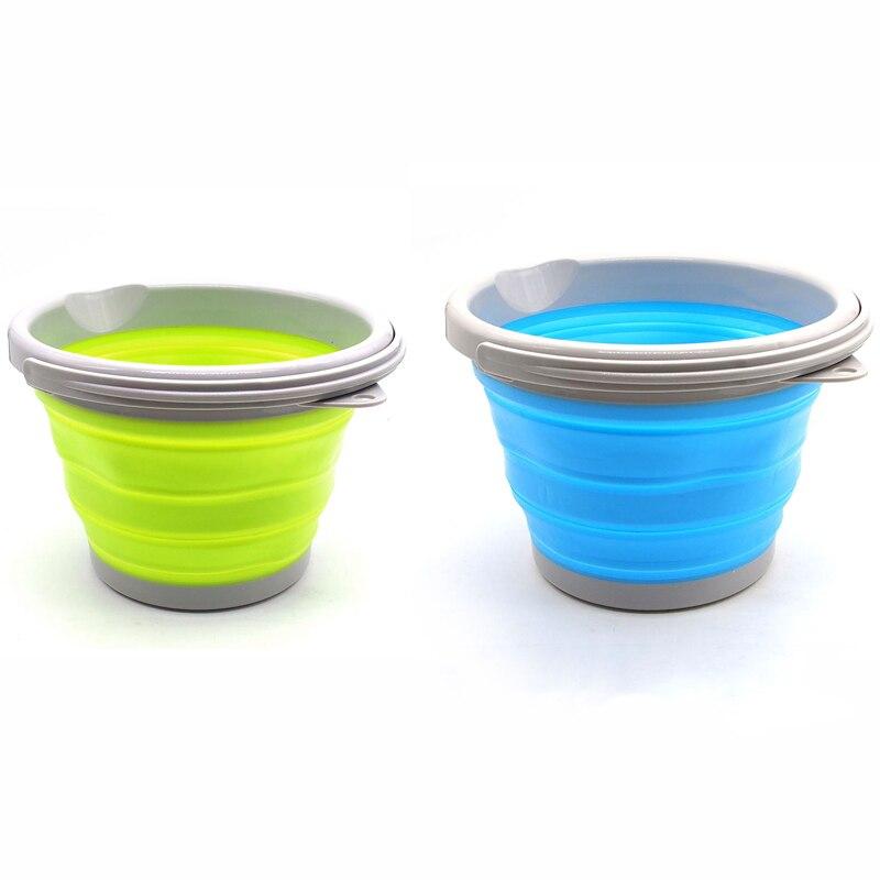 Novo silikonsko hrano 5 / 10L silikonska posoda za led, hladilnik za - Kuhinja, jedilnica in bar