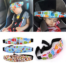 Baby Stroller sleeping Head support Child Car Safety Seat Head Fixing Auxiliary Cotton Belt for Child Safety Seat accessories(China)
