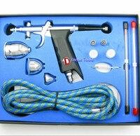 Hot Dual Action Airbrush Air Brush Kit With Airbrush Hose And Spray Gun For Nail Art