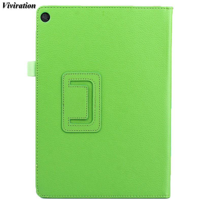 Viviration Leather Fashion Tablet Accessories Protective PU Waterproof Tablet PC Cover C ...
