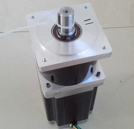 2pcs/lot NEMA 34 Planetary Gear Stepper Motor Max 70N.m (9722oz-in) Gear Ratio 3:1 5:1 10:1 Body Length 114mm 2pcs lot high torque planetary gearbox is a no 17 stepping motor 788 oz in 15 1 20 1 25 1 with a 34 mm motor body length