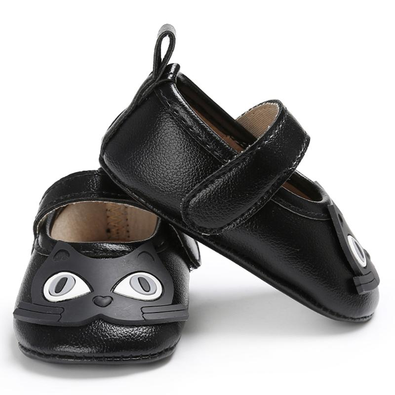 Cartoon Owl Baby Shoes Spring Autumn Newborn First Walker Soft Sole Anti-slip Baby Girls Boys Footwear