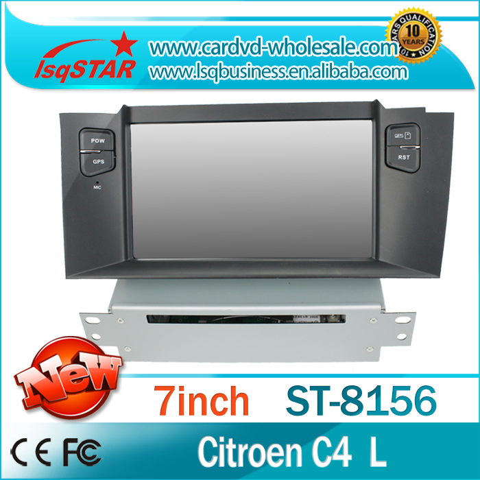 car radio gps citroen C4L dvd player 3G DVD BT Radio GPS ! stock! - LSQSTAR store