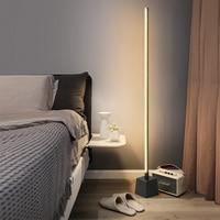 Modern Floor Lights Studyroom Standing Lamps for Living Room Iron LED Standing Lamp Nordic Bedroom Led Bedside Floor Lamps