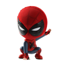 Disney Marvel Avengers Iron Man Panther Spider Hero Car Shaking Head Magnetic Sucker Doll Toys Action Figure Model Ornaments