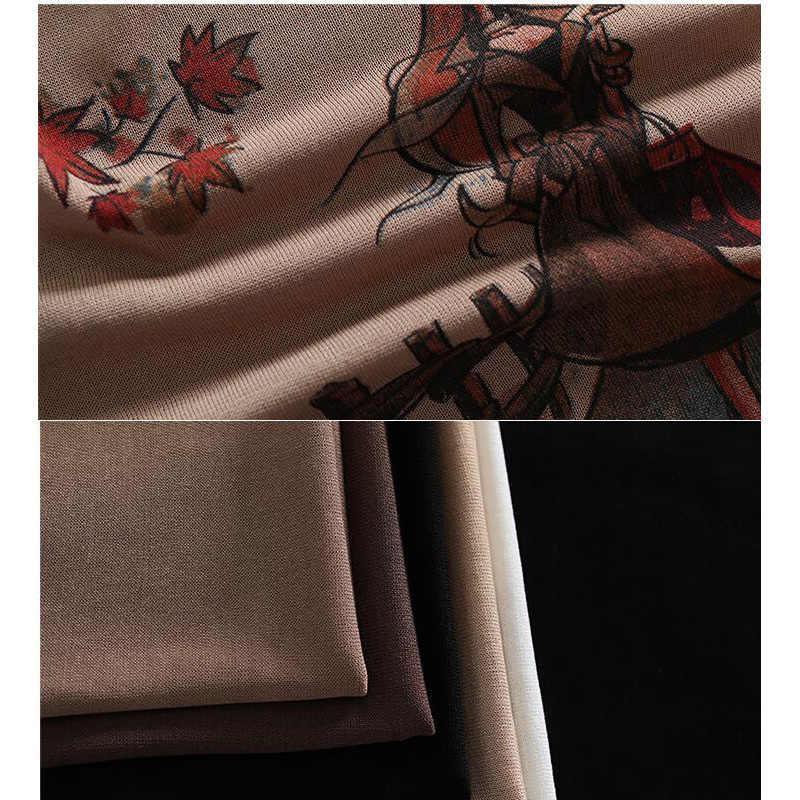 2019 летние трикотажные льняные безрукавки Асимметричный жилет для женщин с мультяшным принтом 4 цвета на выбор женские жилеты летние топы a0bz30