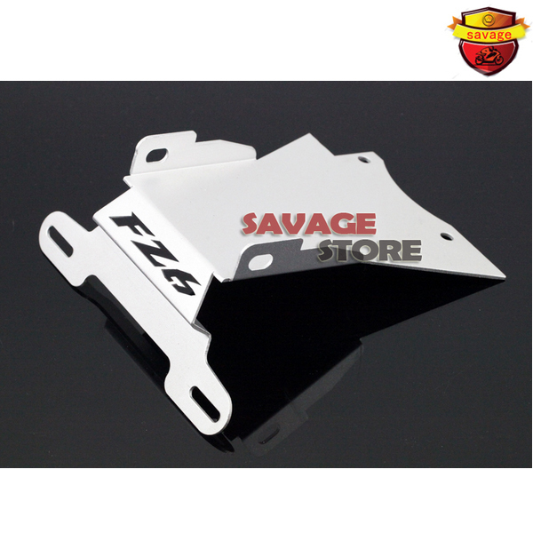 For YAMAHA FZ6 N/S FZ6N FZ6S FZ-6N 2004-2009 Silver Motorcycle Tail Tidy Fender Eliminator Registration License Plate Holder mayitr motorcycle steel license plate holder fender eliminator tail tidy for yamaha fz6 fz 6 2006 2008