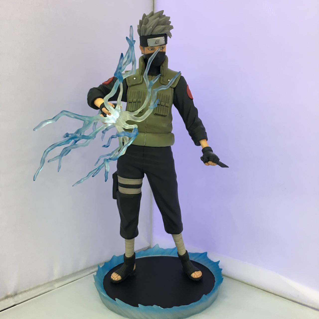 NEW 1pcs 30CM pvc anime figure Naruto big size Hatake Kakashi action figure collectible model toys brinquedos japanese anime figures 23 cm anime gem naruto hatake kakashi pvc collectible figure toys classic toys for boys free shipping