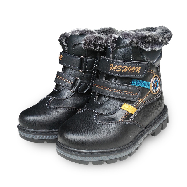 Invierno 1 par de arranque Botas de Nieve caliente Niños de la MANERA, MARCA Boy Kids Sneakers