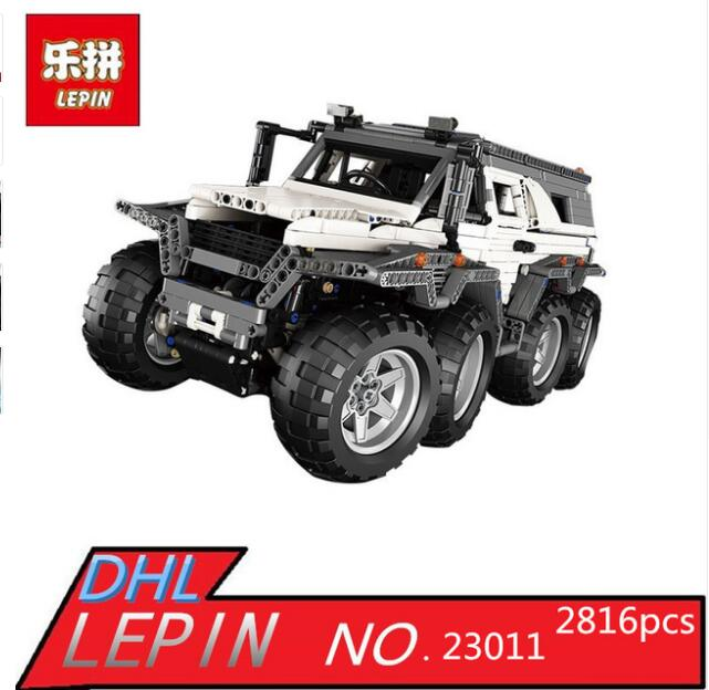 IN STOCK LEPIN 23011B 3021Pcs Technic Series Off-road vehicle Model Building Kits Block Educational Bricks Compatible Toys Gift lepin 22001 pirate ship imperial warships model building block briks toys gift 1717pcs compatible legoed 10210
