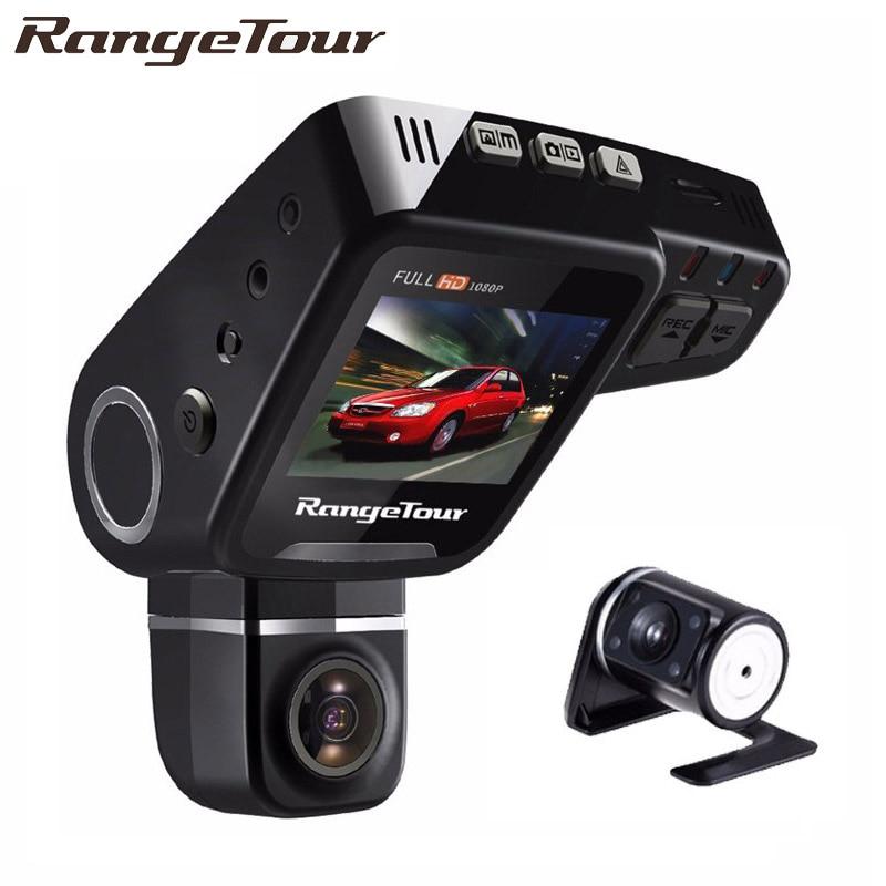 Palette Tour C10s Plus Dual Objektiv Auto DVR Dashboard Kamera Volle HD 1080 p Dash Cam Nachtsicht 2 zoll LCD Video Recroder Camcorder