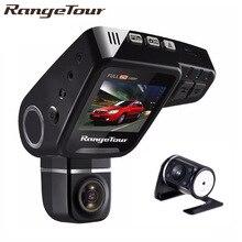 Range Tour C10s плюс двойной объектив Автомобильный dvr приборной панели камера Full HD 1080 P регистраторы ночное видение 2 дюймов ЖК дисплей Видео Recroder камкордер