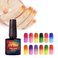 60 Hot Sale Colors Arte Clavo 10ml Temperature Changing Gel Nail Choose Any 1 Color UV Lamp Polish Kit Soak Off Nail Gel Polish