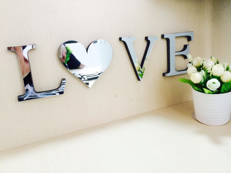 wedding love letters home decoration