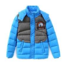 Бесплатная доставка дети зима вниз куртка дети пальто зимнее верхней одежды печатных народная русский стиль белая утка вниз парки лоскутная