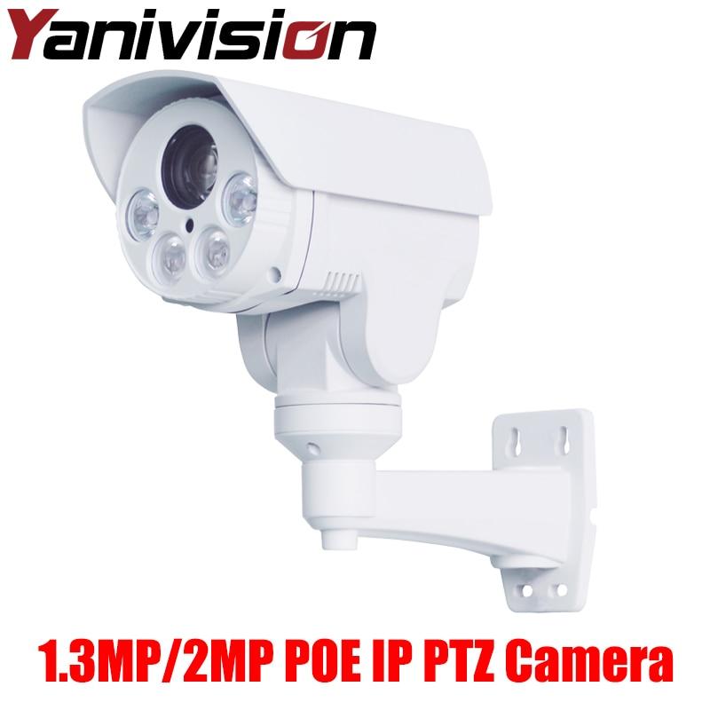 Full-HD 1080P 2 Megapixel Outdoor Bullet 10X Optical Zoom 2MP 10X / 1.3MP 4X Zoom P2P Surveillance Camera HD Mini IP PTZ Camera hot sell full hd 1080p 2mp outdoor bullet 4x optical zoom 2 8 12mm lens mini ptz bullet hdcvi camera 4pcs leds ir 50m