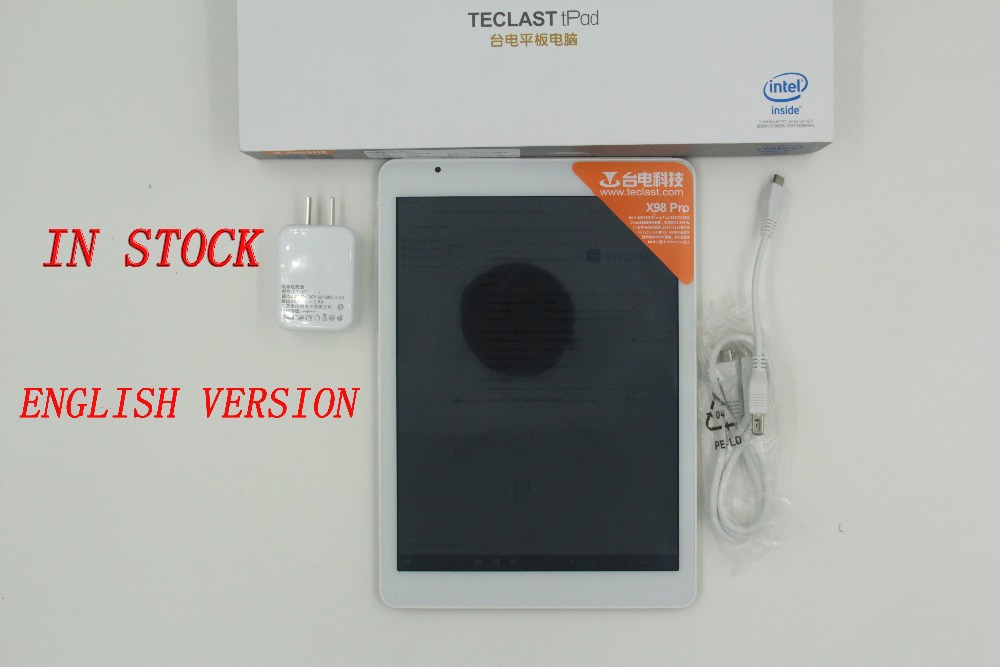 IN Stock New arrival 9 7 Teclast X98 pro windows 10 wifi Tablet PC 2 24GHz