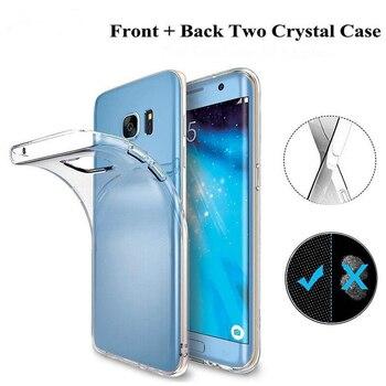 360 Degrees Full Case For Samsung Galaxy J4 J6 J8 Plus J2pro 2018 J3 J5 J7 2017 2016 Prime Clear Cover Soft TPU Phone Coque Etui 1