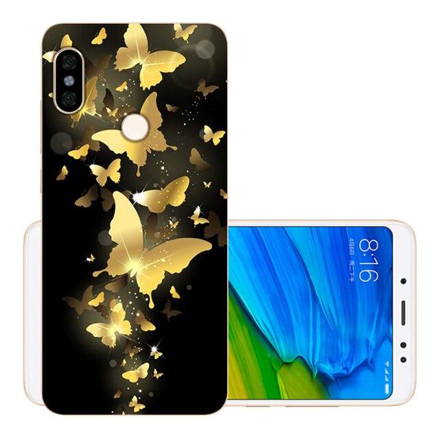 """CROWNPRO Soft 5.99"""" 64GB Xiaomi Redmi Note 5 Pro Case Cover TPU Phone Back Protetive CN Version Xiaomi Redmi Note 5 Case"""