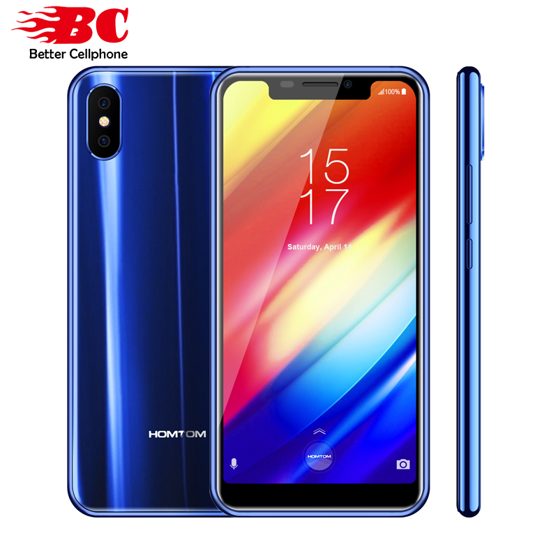 "Original Homtom H10 5.85"" 4G LTE Android 8.1 4GB RAM 64GB ROM 16MP Dual Back Camera MTK6750T Octa-Core 1.5GHZ OTA Fingerprint"