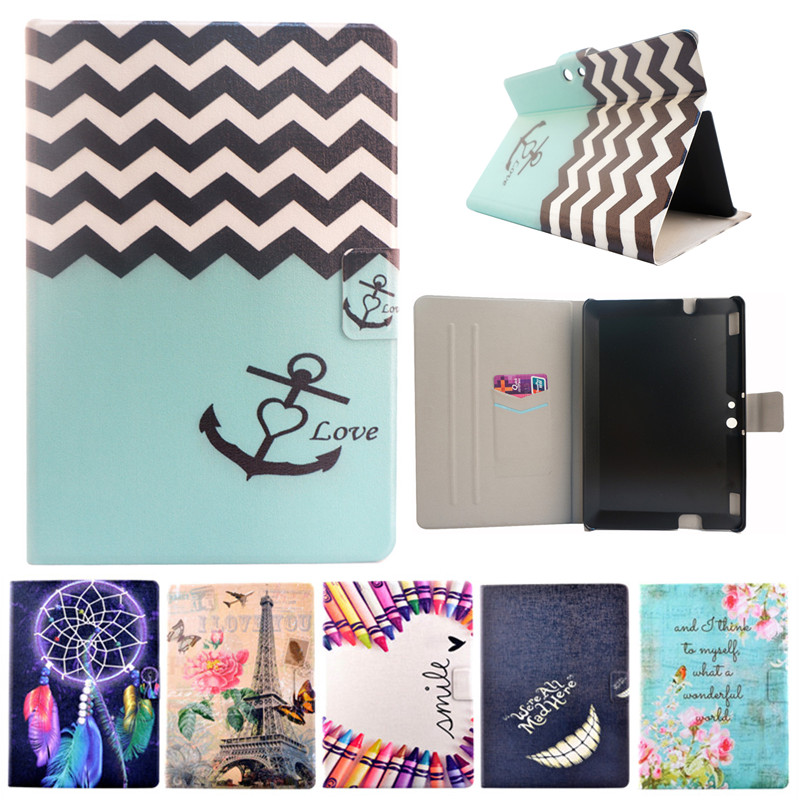 For kindle HDX 8.9 Fashion Case Flower Tower Flip PU Leather Cover Funda For Amazon Kindle Fire HDX 8.9 Tablet Stand Cover