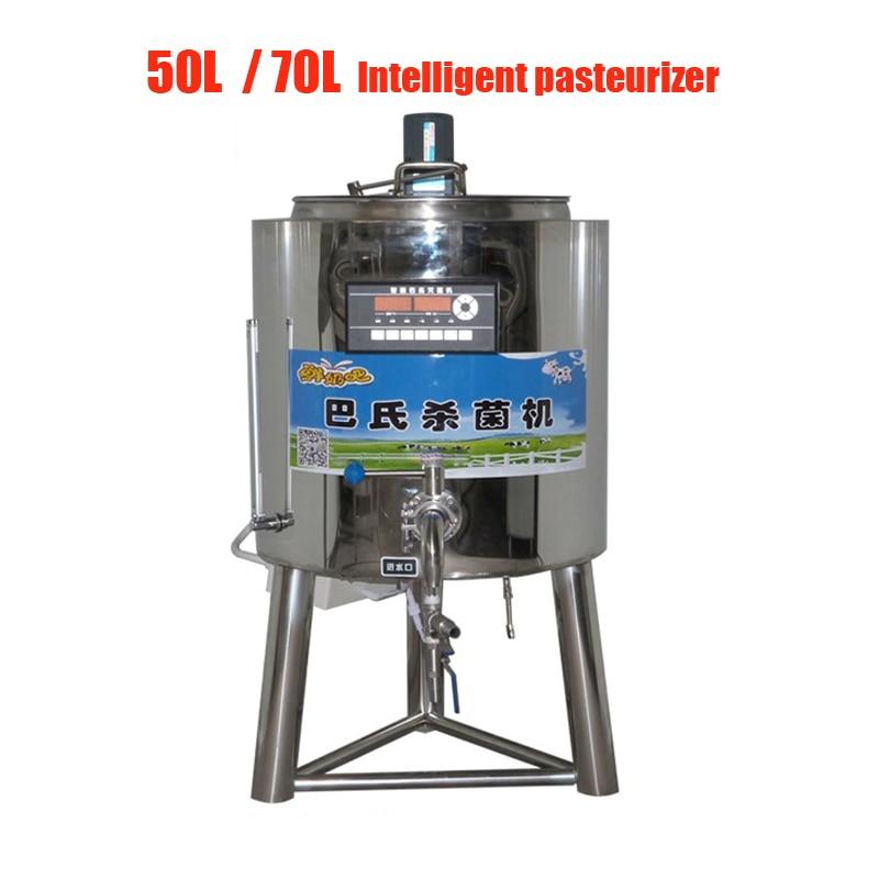 70L Commercial  Intelligent Pasteurizer Yogurt And Fresh Milk Sterilizer Milk Sterilize Machine For Dairy Farm, Milk Pasteurizer