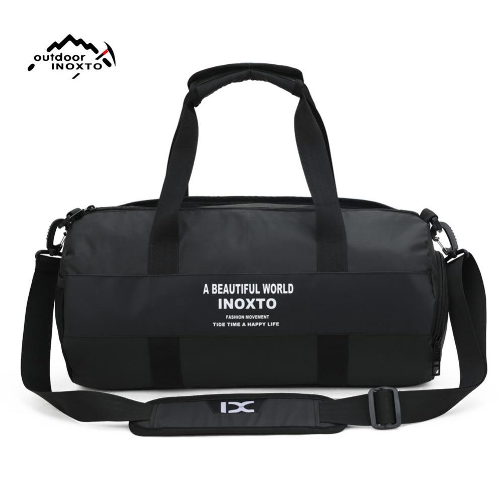 Handbag Sport-Bag Fitness-Pack Shoulder Waterproof Women's Polyester Female