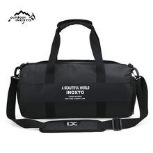 Gym Bags Men Sports Fitness Pack Shoulder Sport Bag Women's Handbags Male Travel Bags Polyester Waterproof Handbag Female(China)