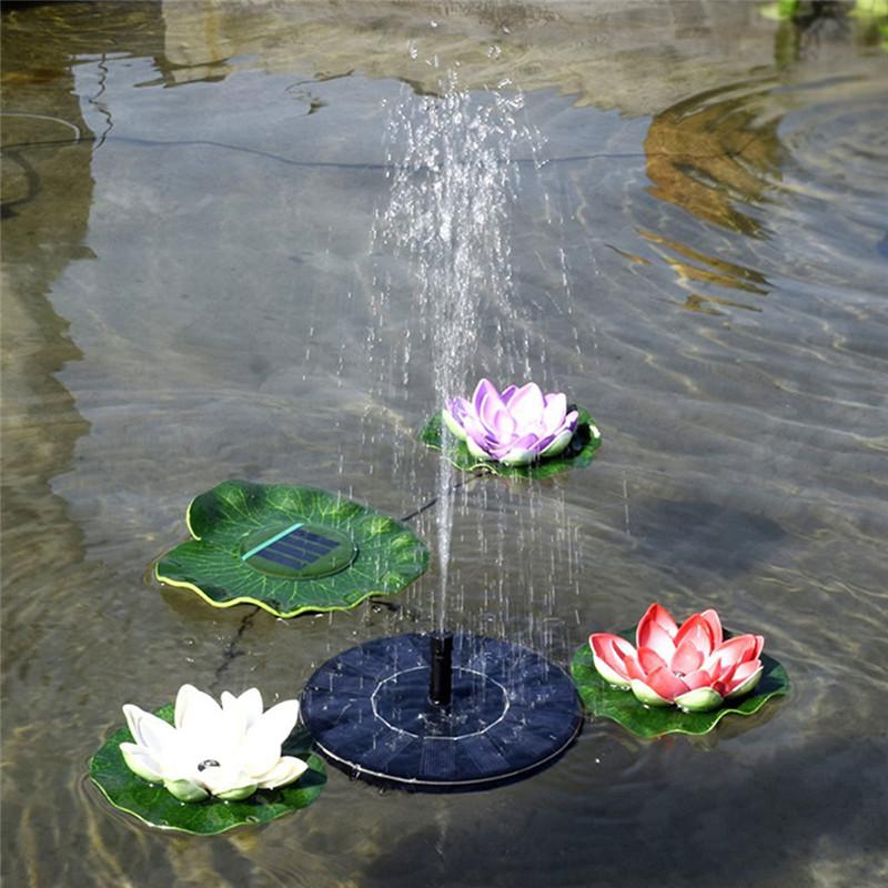 fuente de agua solar fuente solar fuente del jardn fuente artificial al aire libre para el hogar familiar parque jardn decorac