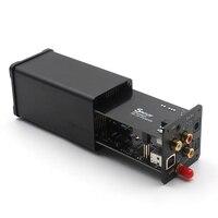 ES9038Q2M ультракомпактный DSD, USB Оптический SPDIF коаксиальный CSR8675 Bluetooth 5,0 Вход доп аудио декодер ЦАП APTX HD с инфракрасный пульт дистанционного Упр