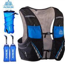 цена на AONIJIE Running Bag Hydration Backpack Rucksack Bag Vest Harness Water Bladder Hiking Camping Marathon Race 5L