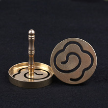 Fragrant incense seal extension mold furnace of pure copper molds sweet fragrance fragrant cloud pattern