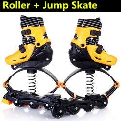Inline Skates Jump Sport Skate Schuhe für Kinder Kinder Jumper Skating Ausrüstung Orange Rosa Größe Einstellbar Veränderbar Roller