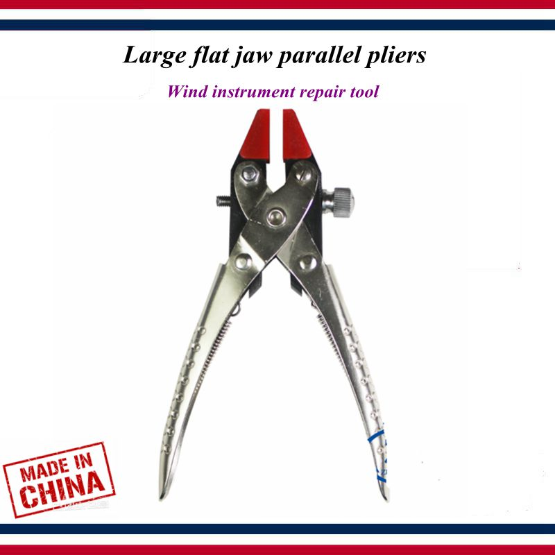 Wind Instrument Repair Tools Saxophone Flute Clarinet Maintenance Tool Large Flat Jaw Parallel Pliers