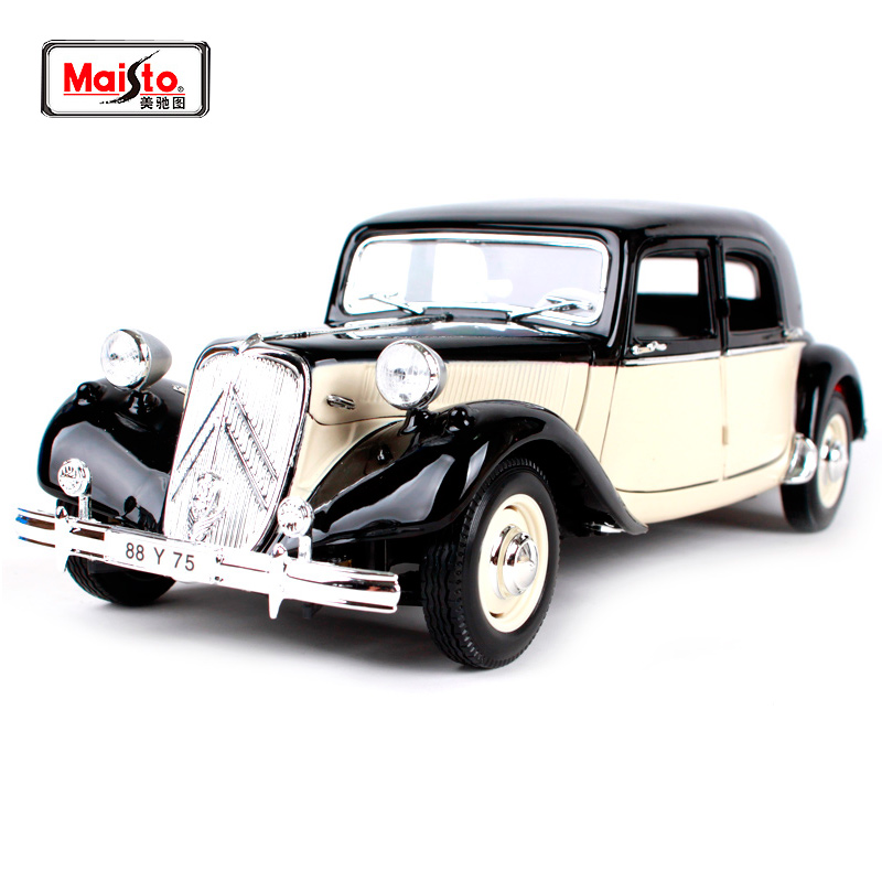 Maisto 1:18 1952 Citroen 15CV 6 CYL Retro Classic Car Diecast Model Car Toy New In Box Free Shipping 31821-in Diecasts & Toy Vehicles from Toys & Hobbies    1