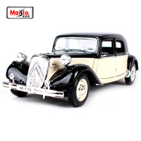 Maisto 1:18 1952 Citroen 15CV 6 CYL Retro Classic Car Diecast Model Car Toy New In Box Free Shipping 31821