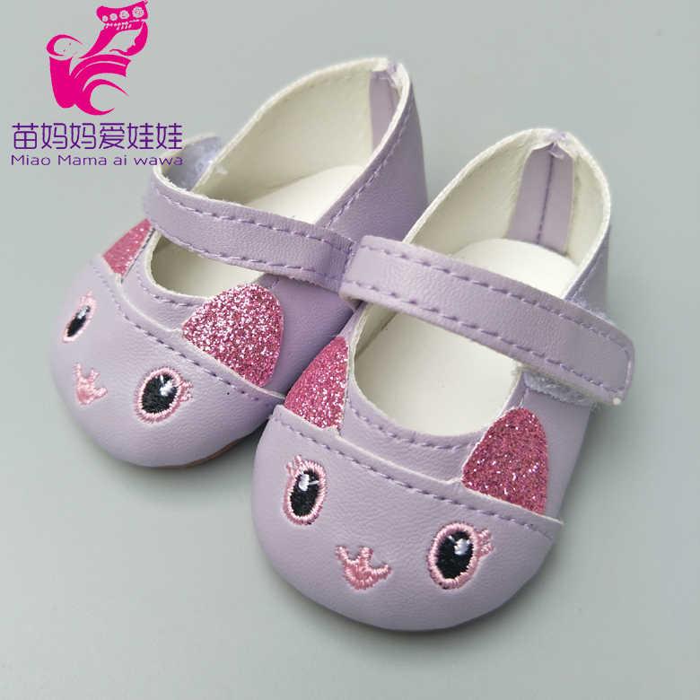 دمى الأحذية يصلح ل 43 سنتيمتر ولد طفل دمية الأحذية 18 بوصة دمية الأحذية لطيف دمية الملحقات