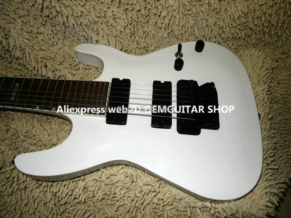 new arrival white 7 strings electric guitar wholesale guitars high quality free shipping in. Black Bedroom Furniture Sets. Home Design Ideas