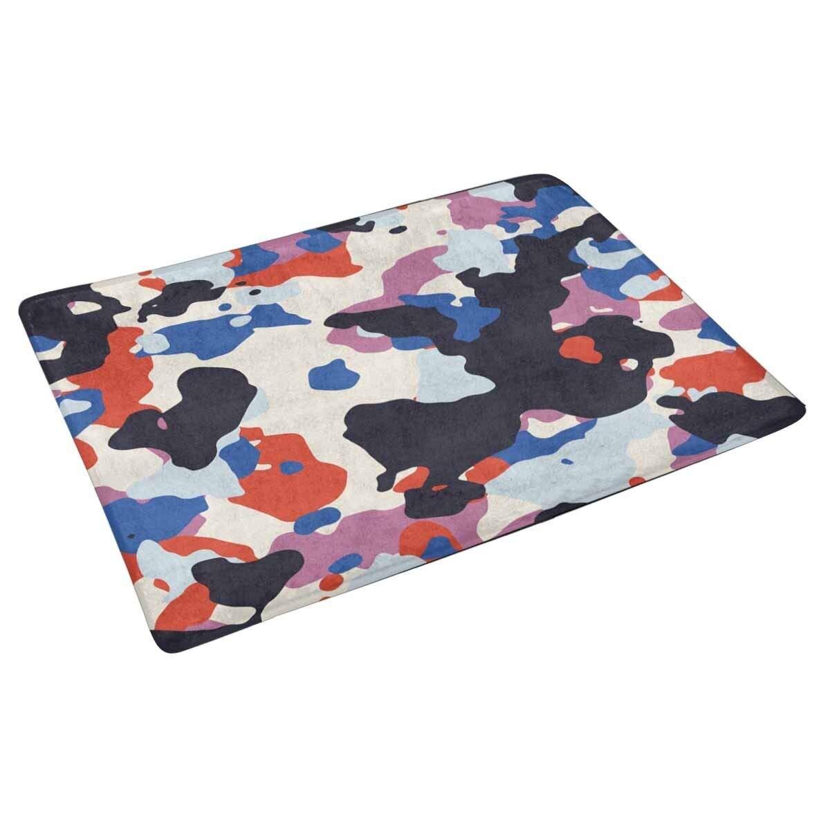 Camo Rug Home: Camo Doormat Anti Slip Entrance Mat Floor Rug Indoor/Front