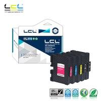 LCL GC41 GC41K GC41C GC41M GC41Y GC 41 (5 Pack) Cartucho de Tinta Compatível para Ricoh IPSiO SG 2010L/2100/3100/7100/3110 SFNW|ink cartridge|compatible ink cartridge|compatible cartridges -